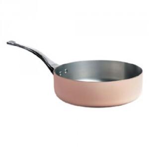 L Straight Copper Saute Pan