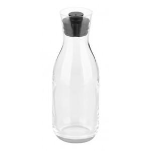 Juice/Beverage carafe - 1,2L- Hand Blown Crystalline