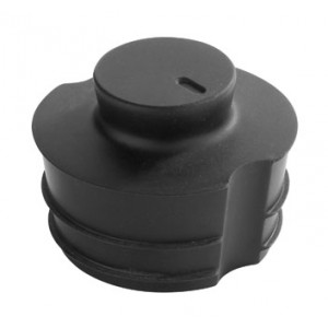 Silicone stopper for carafe