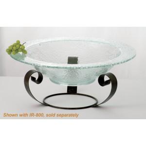 """12 qt. Jade Glass Bowl, 22"""" dia., 5"""" deep"""