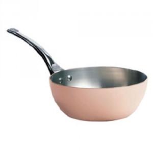 Conical Copper Saute Pan