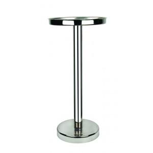 Oval ice bucket stand. L cm 32x22 - H cm 73