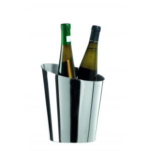 Champagne bucket for two bottles. Ø cm 23,5 - H cm 26 - cl 550