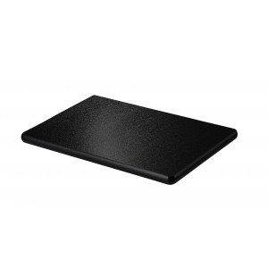 Rectangular tray in polyethylene.