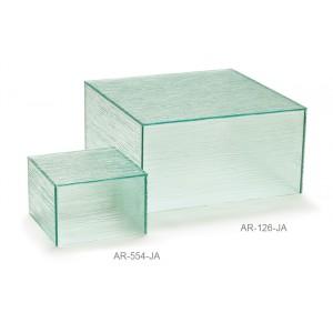 """11.75"""" Acrylic Cube Riser, 6"""" tall"""
