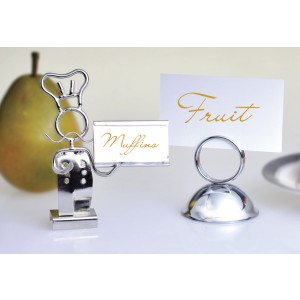 """Chef-Shaped Card Holder, 4"""" Tall"""