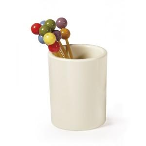 """1.5"""" Tooth Pick Holder/Mini Flower Vase, 1.75"""" Deep"""