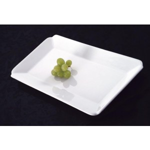 "12"" x 8"" Ceramic Rectangular Platter"