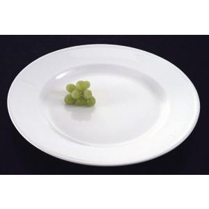 """15.75"""" Ceramic Round Platter"""