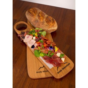 Charcuterie Baguette Board (S) Weathered