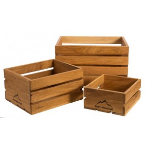 Crate (S) no handles Weathered