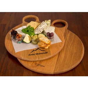 Charcuterie Round Board (M) Weathered  finish