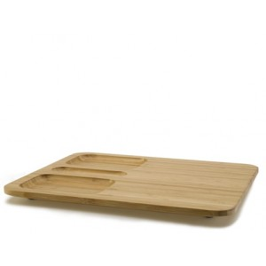 Bamboo Courtesy Tray Set