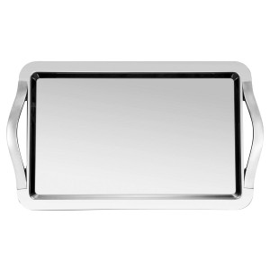 Serving tray with handles 77x55cm