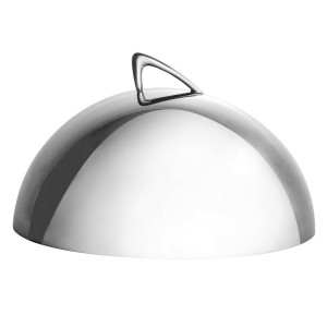 Dome cover, stainless steel