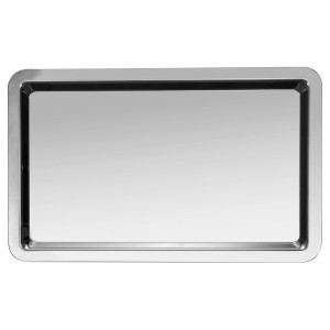 Serving tray without handle 32,5x26,5cm (Gastronorm 1/2) S/P