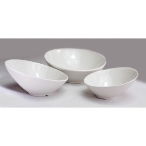 Set of 3 Ceramic Cascading Bowls, 1.1 qt., 16 oz., 10 oz.