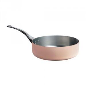 S Straight Copper Saute Pan