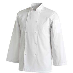 Chef Uniform Jacket Laundry Coat Long