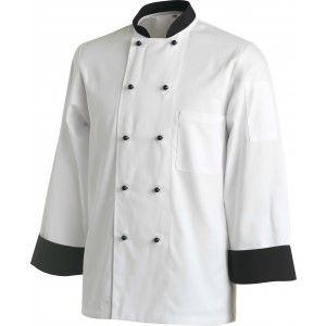 Chef Uniform Jacket Contrast Long