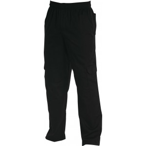 Chef Uniform Cargos Black
