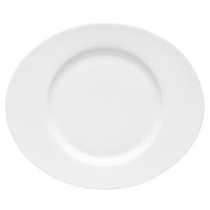 Oval dessert plate