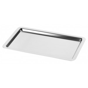 18.10 stainless steel tray GN1/1, standard finish