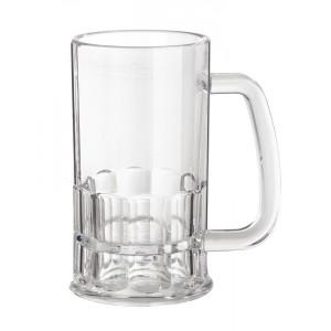 "12 oz. (12.35 oz. Rim-Full), 3"" (4.5"" w/Handle) Beer Mug, 5.5"" Tall"