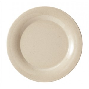 "9"" Wide Rim Plate"