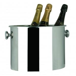 Oval champagne bucket. L cm 32x22 - H cm 22 - cl 1000
