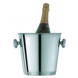 Champagne bucket for one bottle. Ø cm 21 - H cm 21 - cl 350
