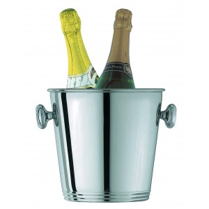 Champagne bucket for two bottles. Ø cm 24 - H cm 22 - cl 550