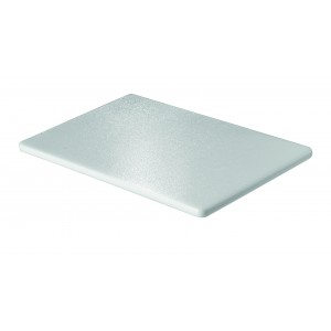 Polyethylene rectangular tray.