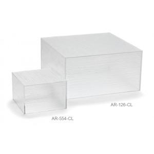 """6"""" Acrylic Cube Riser, 4"""" tall"""