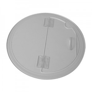 Clear Acrylic Barrel Bowl Lid for both #300 & #350