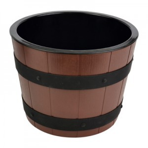 Barrel Bowl Set(Plain Melamine Insert)  5.7L