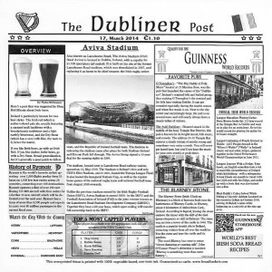 "12"" x 12"" Food-Safe Dublin Newsprint Liner, White, 1000 pieces./cs."