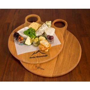 Charcuterie Round Board (L) Weathered finish