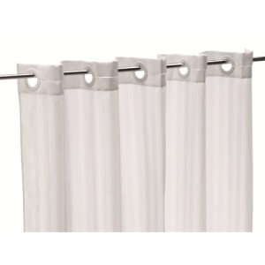 Quick-Fit Hotel Shower Curtain (sold in packs of 5)*